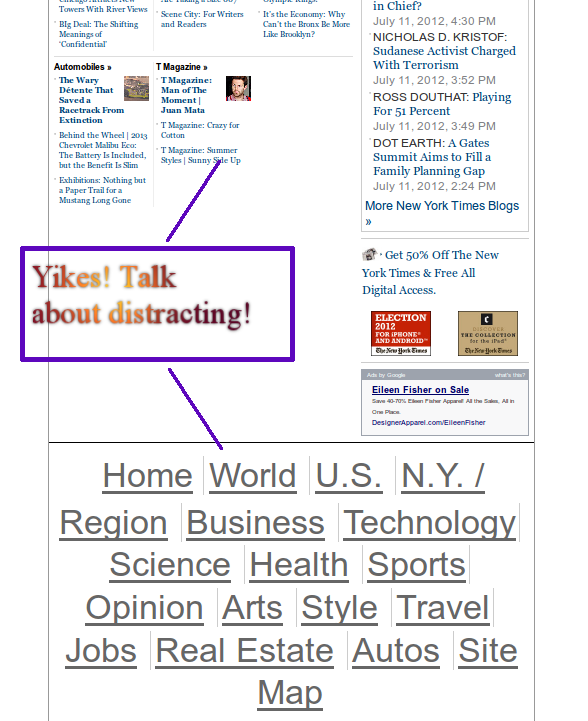 "NY Times ""Footer"" bug in action"